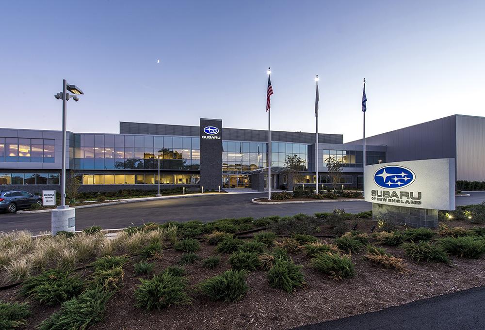 Subaru Of New England >> Subaru Of New England Head Quarters Lymo Construction